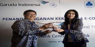 Garuda Indonesia dan BCA Tingkatkan Layanan di E-Commerce