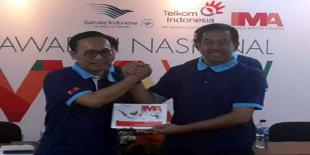 Arief Prabowo Siap Lanjutkan Kesuksesan Awaluddin Sebagai Presiden IMA