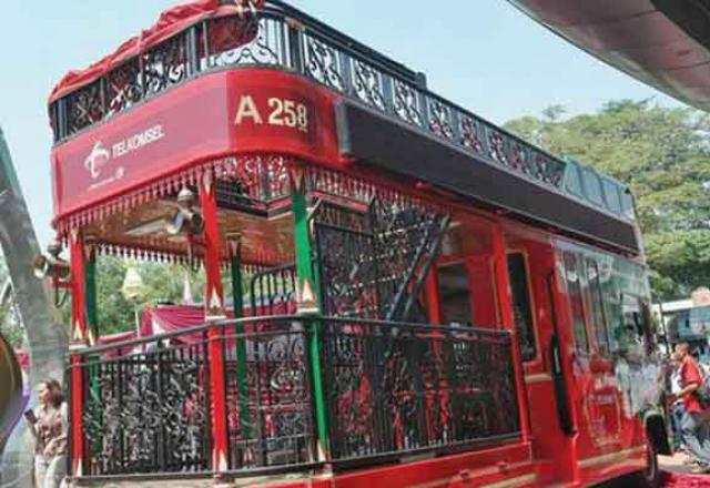 Ini Dia Bus Pariwisata Domapan Ala Yogya