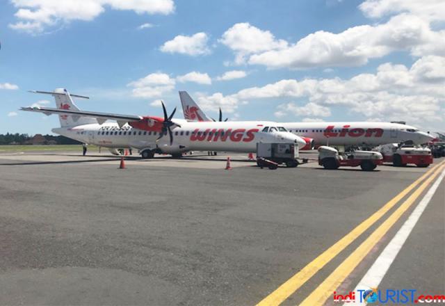 Anjlok, jumlah penumpang di bandara Manado