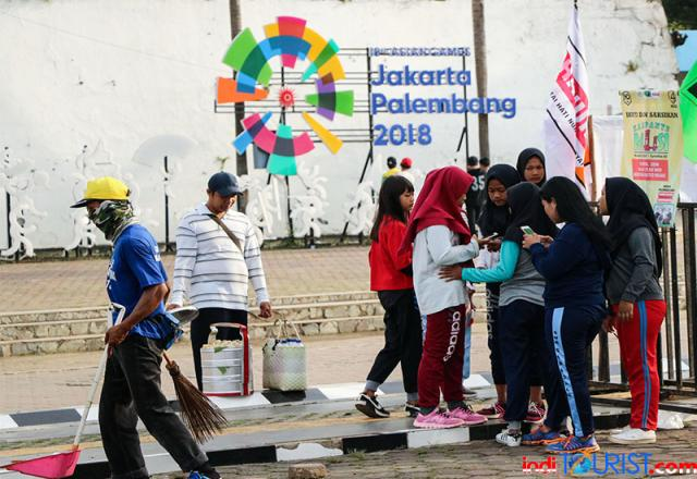 Ada 14 destinasi andalan Palembang saat Asian Games