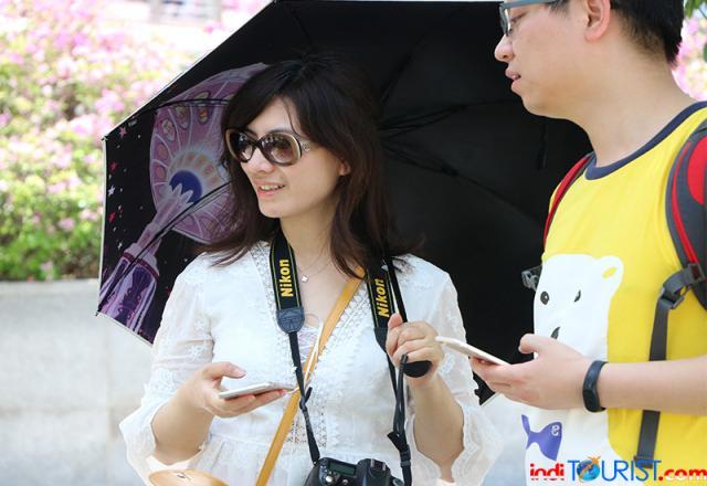 Ada peta wisata Manado di Kedubes Cina