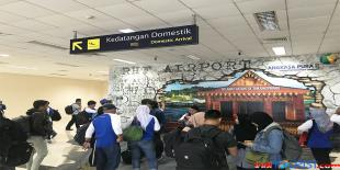 Penumpang di Bandara Tanjungpinang naik bulan lalu