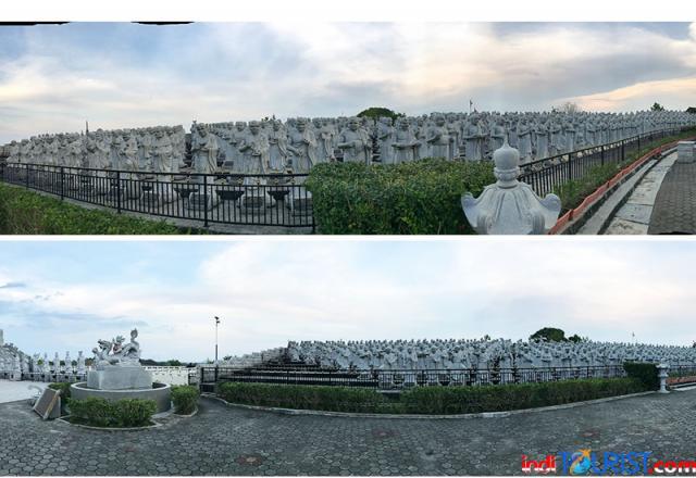 Vihara 1000 patung, destinasi Instagramable