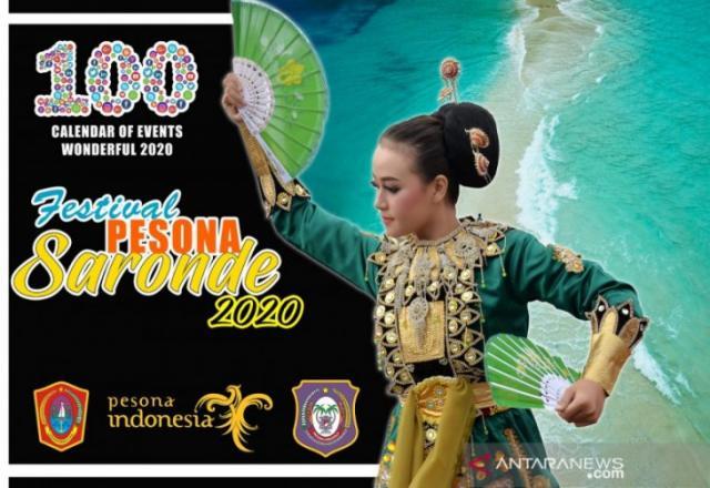 Ada Festival Saronde di Gorontalo Utara
